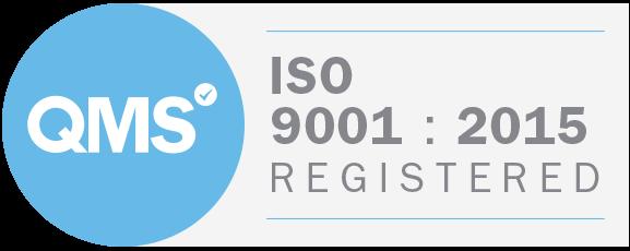 QMS ISO 9001-2015 Logo