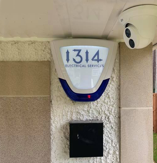 1314 Security Alarm and Camera